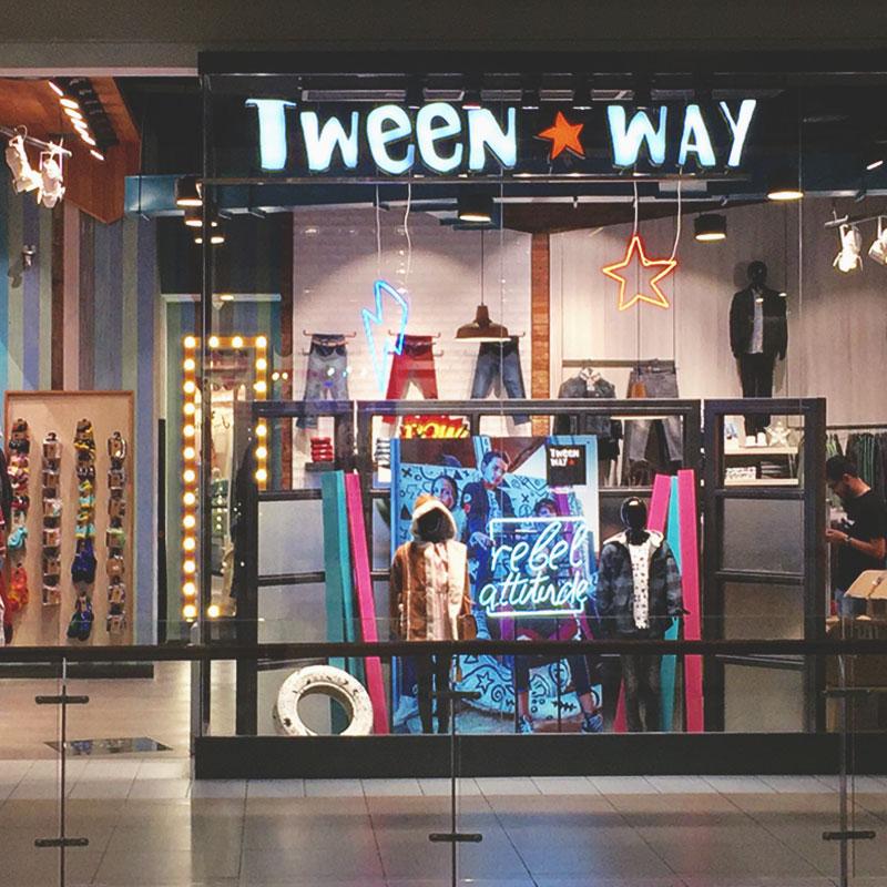 TIENDA TWEEN WAY